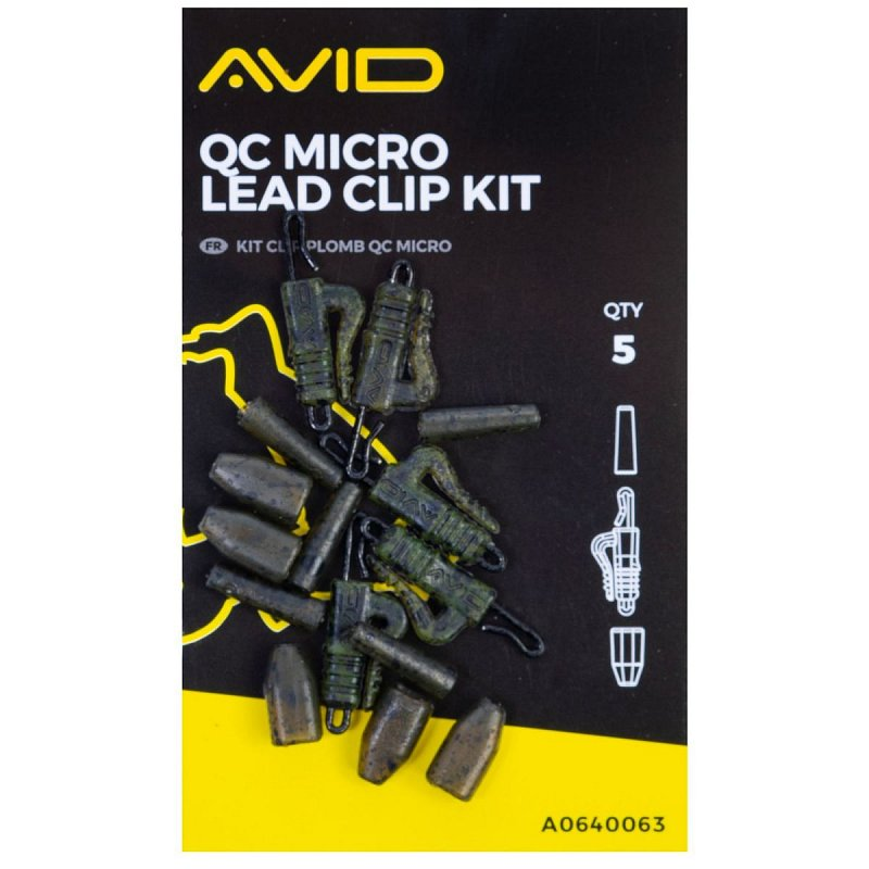 Klip na olovo Outline Micro Lead Clip Kit